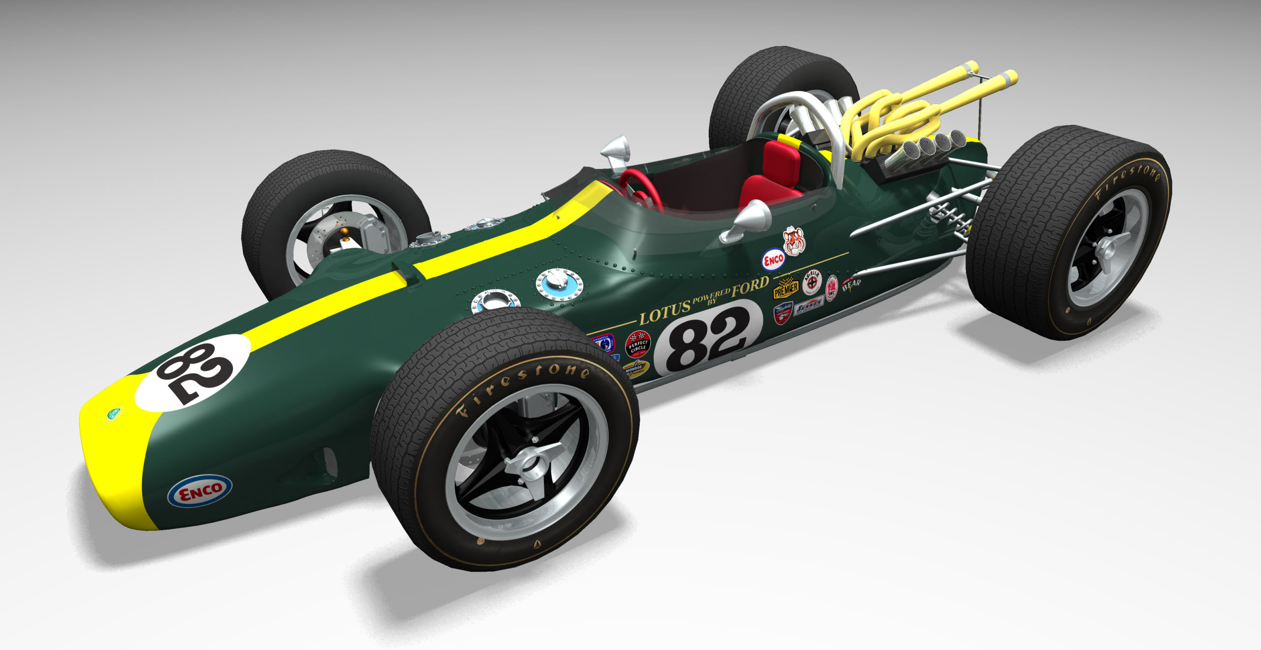 Lotus-Ford-Mk-29-Indianapolis-car